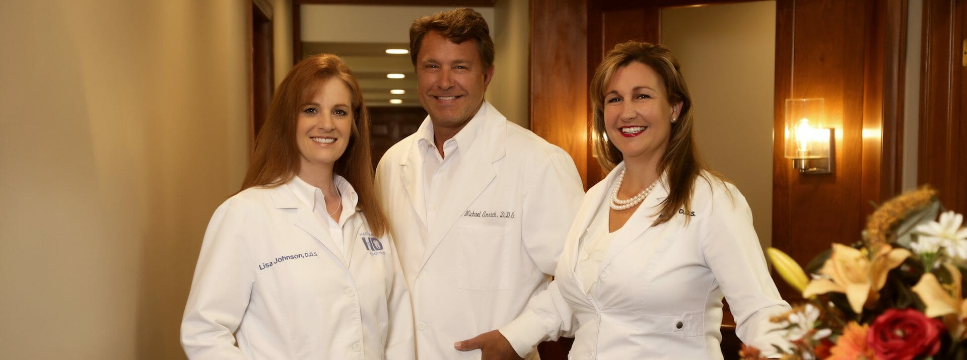 three dentists